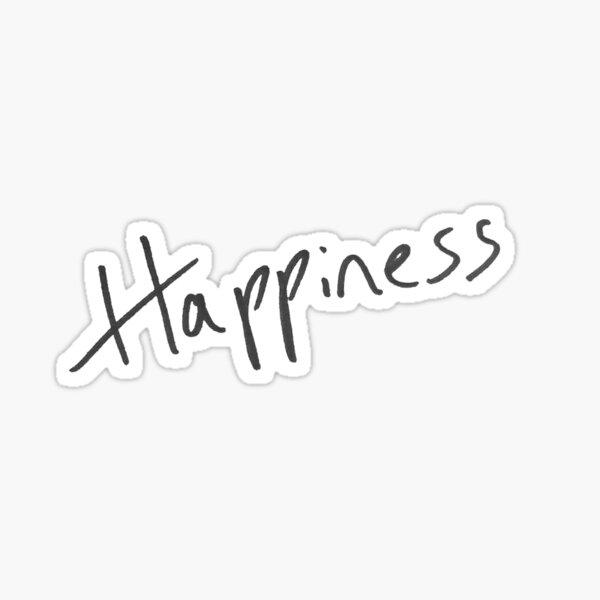 dougie poynter mcfly handwriting happiness 2020 young dumb thrills Sticker