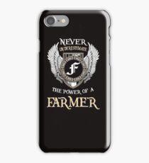 farmer  iPhone Case/Skin