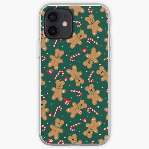Mickey Gingerbread Man  iPhone Soft Case