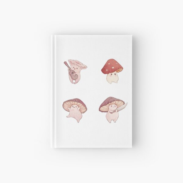 Cute Mushroom Pack Hardcover Journal
