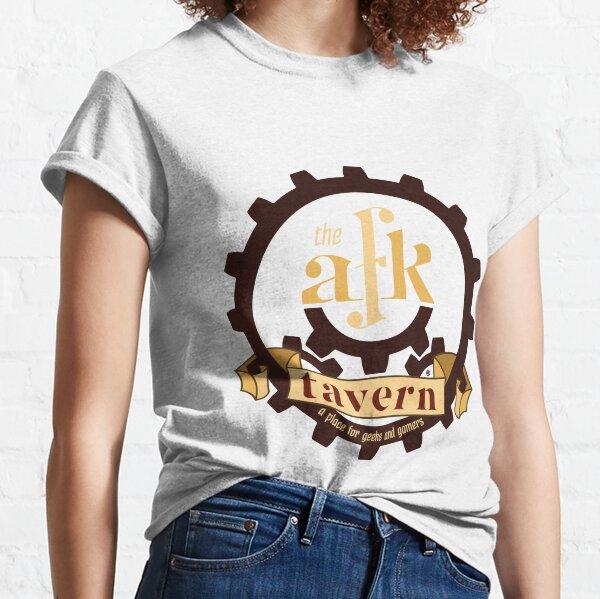 AFK Tavern Round Logo Classic T-Shirt