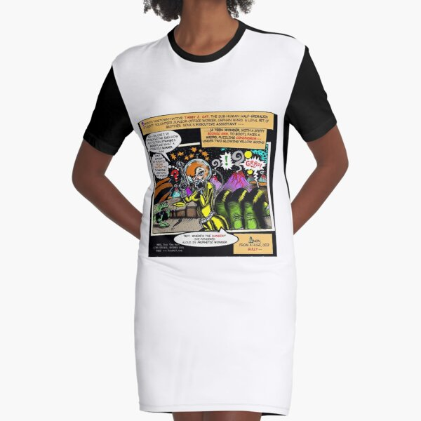 Brother Soul Comic Magazine Super Special ( Page Pop-Art Sample #35 ) Graphic T-Shirt Dress