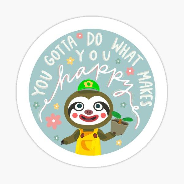 Leif Animal Crossing Sticker