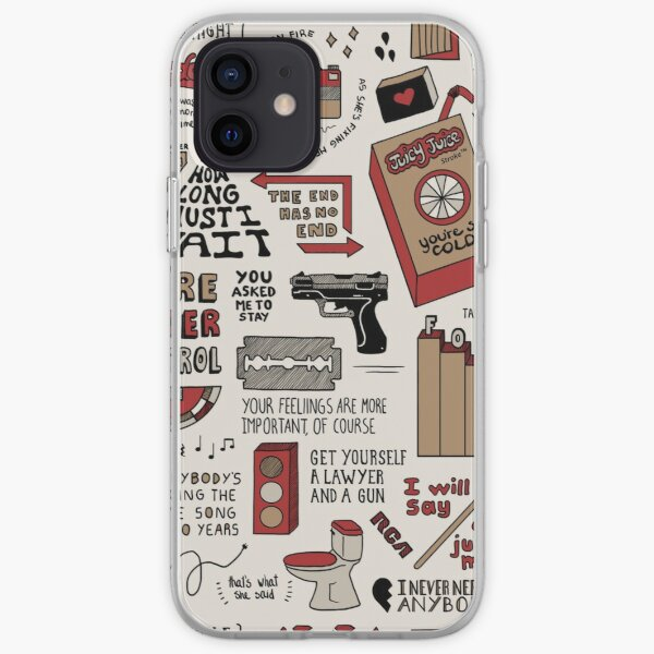 The Strokes Collage iPhone Soft Case