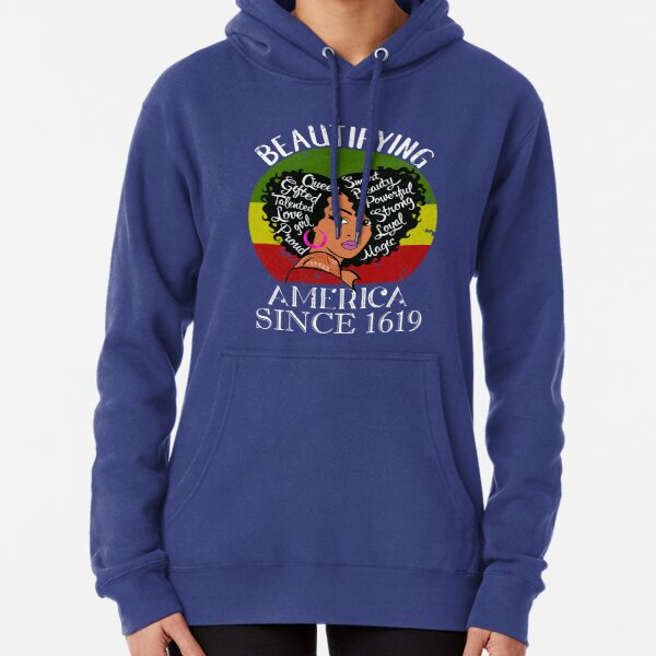 My VP Looks like me- First but not the Last Pullover Hoodie
