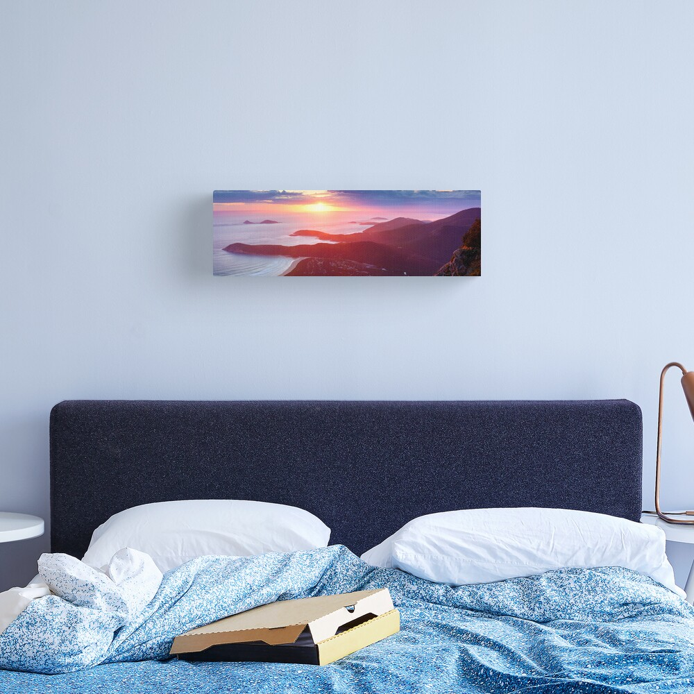 Sunset from Mt Oberon, Wilsons Promontory, Victoria Australia Canvas Print