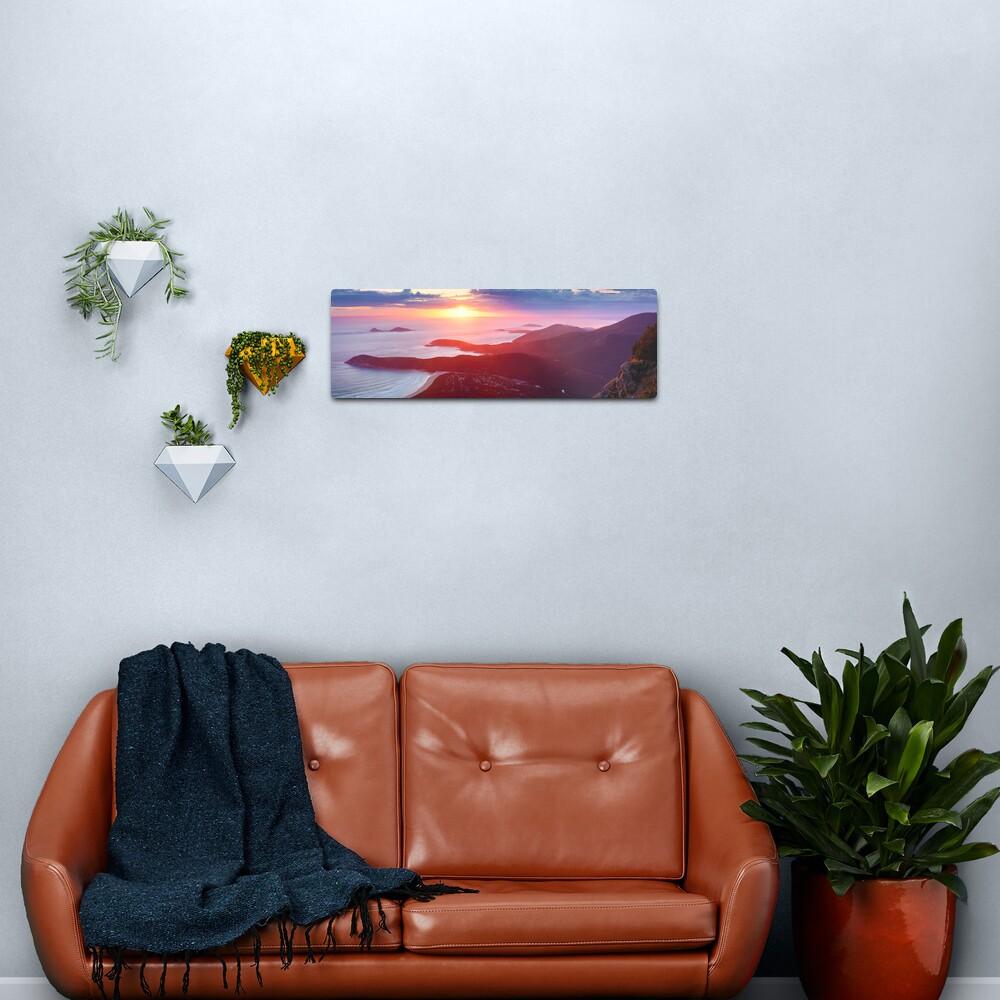 Sunset from Mt Oberon, Wilsons Promontory, Victoria Australia Metal Print