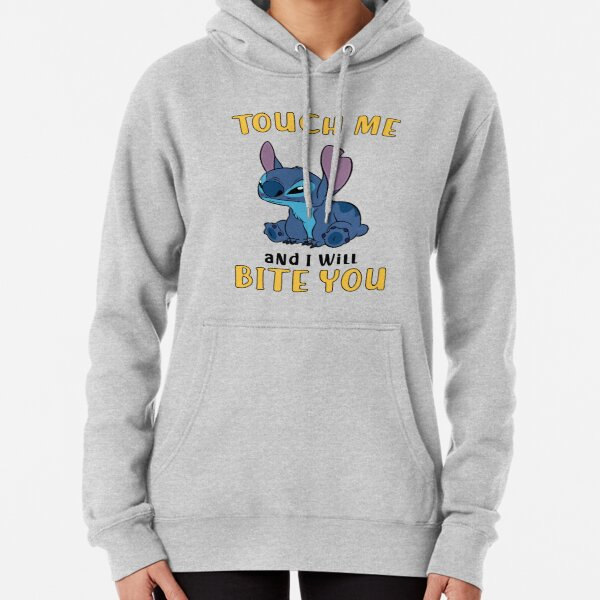 TOUCH ME AND I WILL BITE YOU Pullover Hoodie