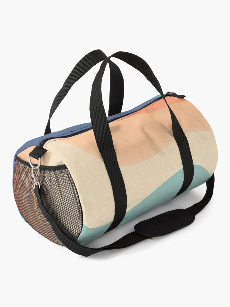 Alternate view of Retro color wave Duffle Bag