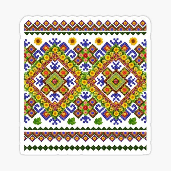 Ukrainian embroidery  Sticker