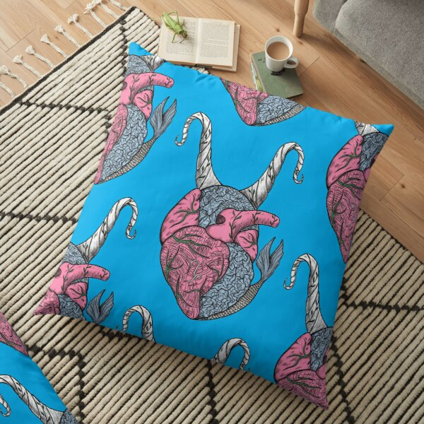 Capricorn Heart Floor Pillow