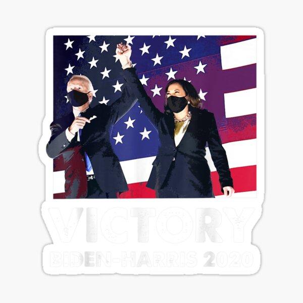 Biden Harris 2020 Victory President Election Celebration T shirt Sticker
