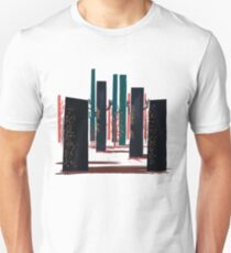 Flat Stamp Forest Unisex T-Shirt