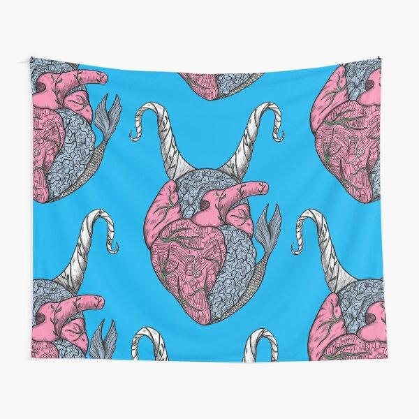 Capricorn Heart Tapestry