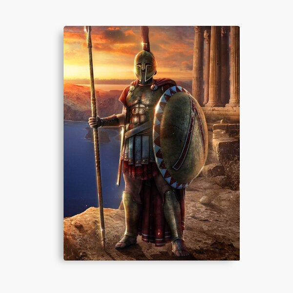 Spartan King Agesilaus II  Commander Canvas Print