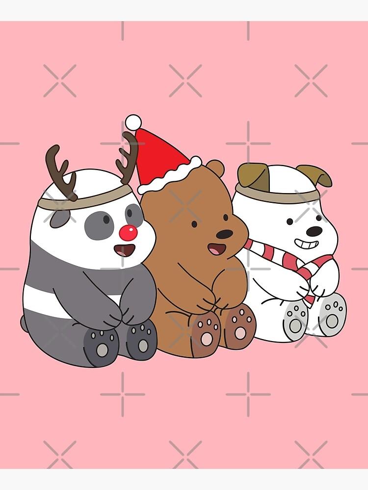 We Bare Bears Xmas by plushism