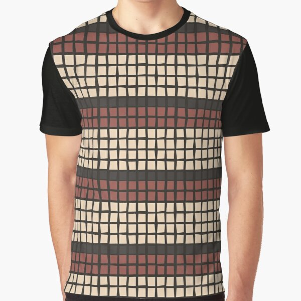 African Fabric Graphic T-Shirt