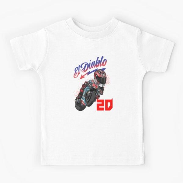 El Diablo Fan Art Superbike Moto GP Fabio Quartararo 20 T-shirt enfant