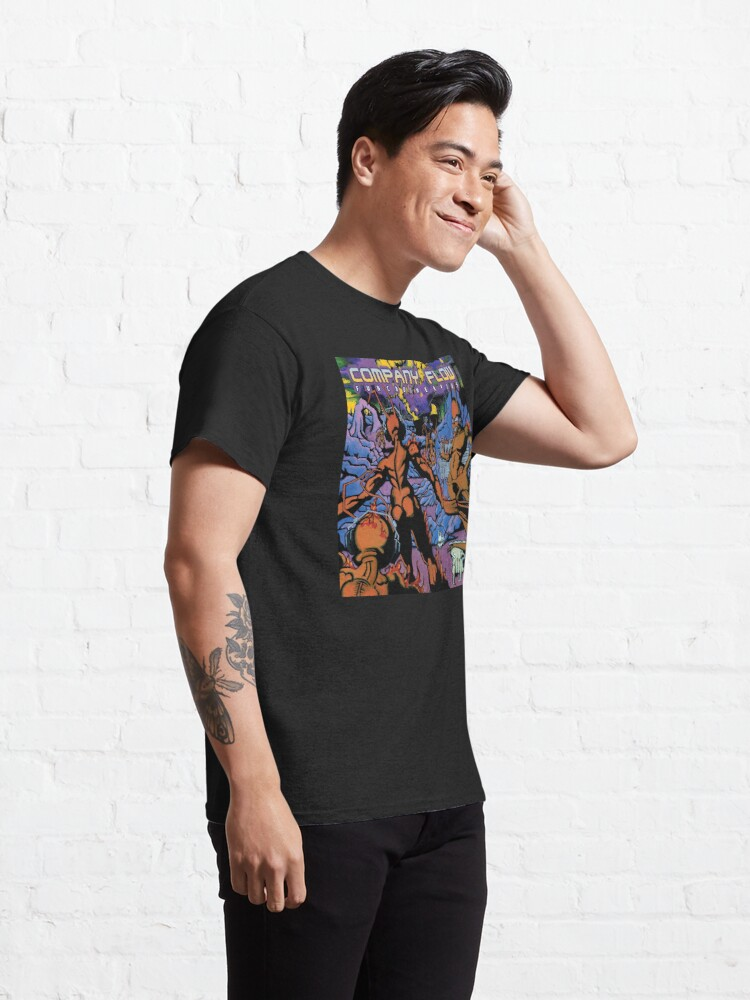Alternate view of Company Flow - Funcrusher Plus Classic T-Shirt
