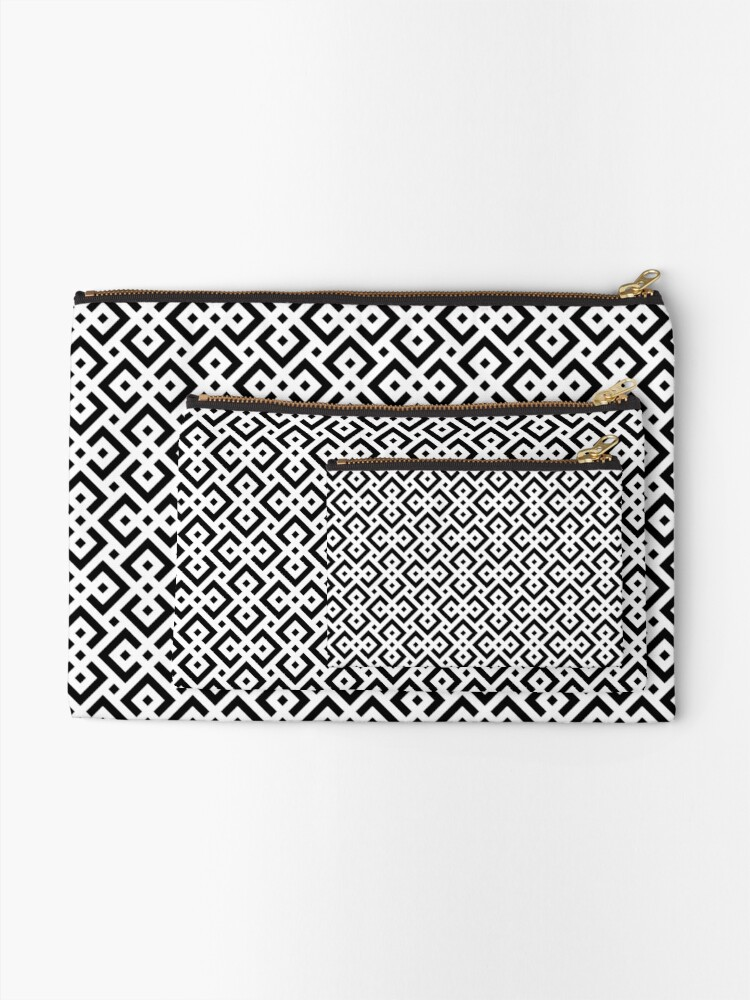Alternate view of Trendy abstract Zipper Pouch