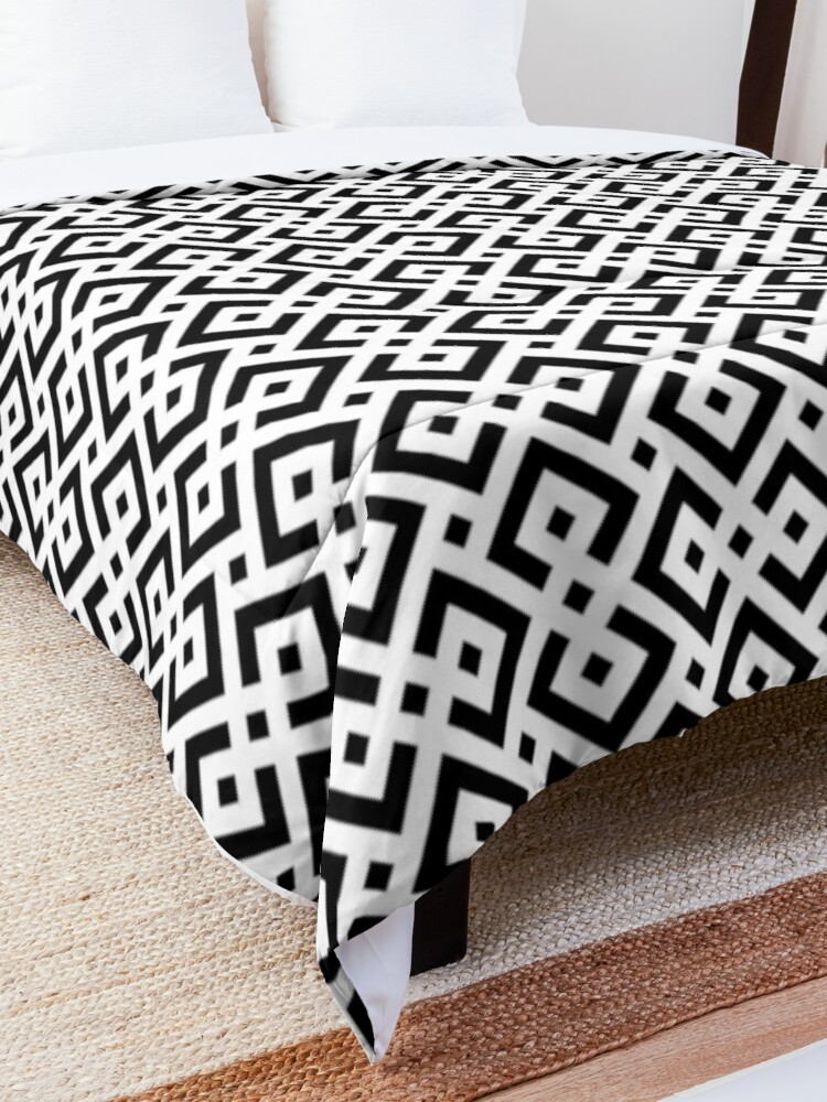 Alternate view of Trendy abstract Comforter