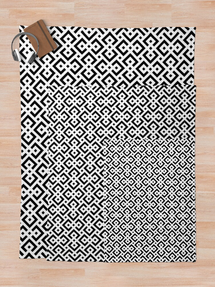 Alternate view of Trendy abstract Throw Blanket