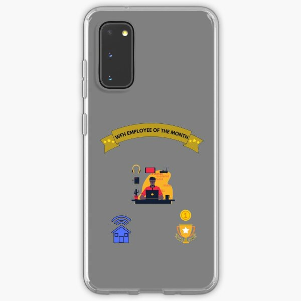 work from home employee of the month Samsung Galaxy Soft Case