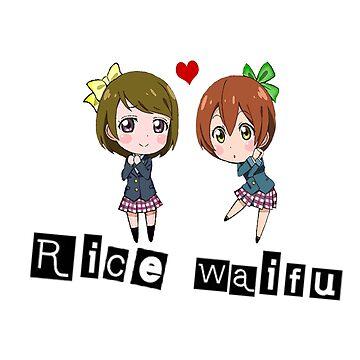 Rice Waifu - Rin x Hanayo by teraphic
