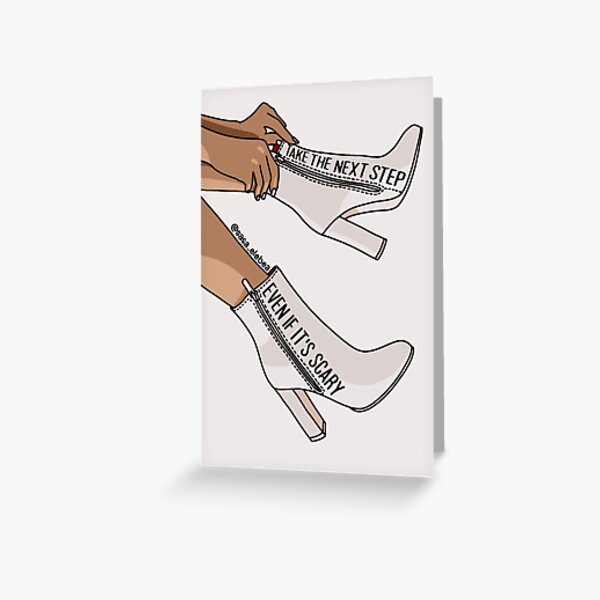 Step by Sasa Elebea Greeting Card