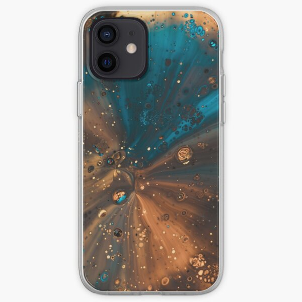 Galaxie colorée Coque souple iPhone