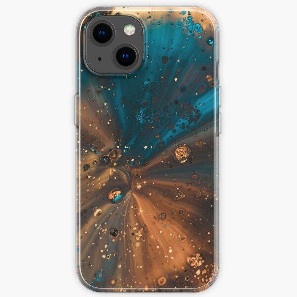 Bunte Galaxie iPhone Flexible Hülle