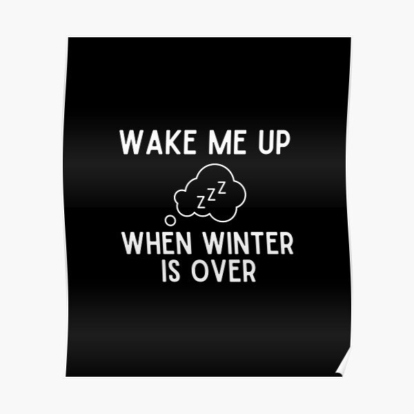 Wake Me Up When Winter Is Over Poster