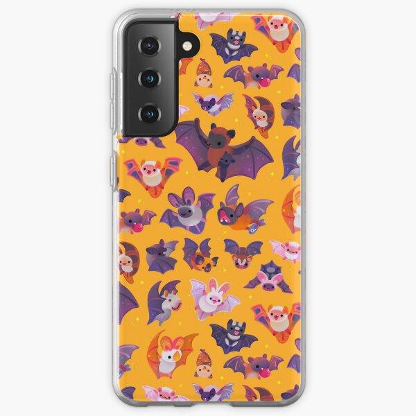 Bat - yellow Samsung Galaxy Soft Case