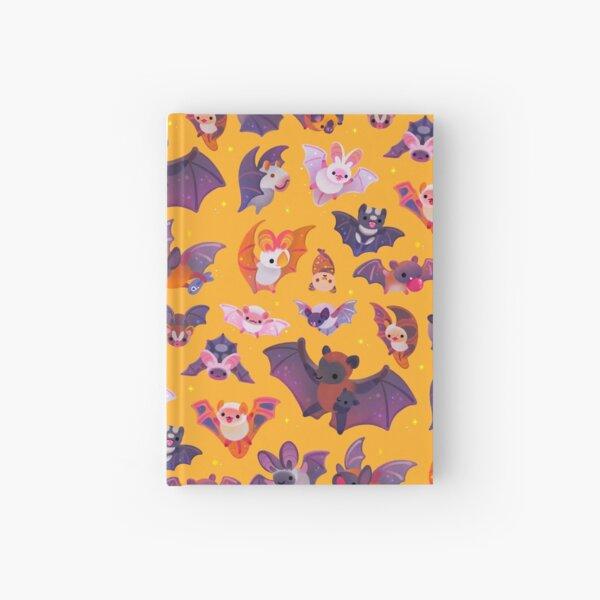 Bat - yellow Hardcover Journal