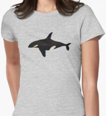 Killer whale Womens Fitted T-Shirt