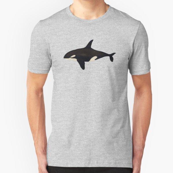 Killer whale Slim Fit T-Shirt