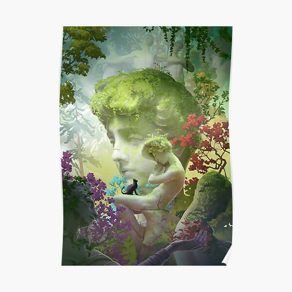 Guardian of the garden Poster