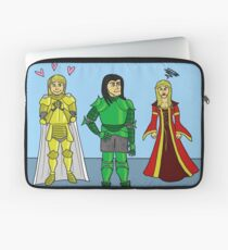 Knightly Infatuation Laptop Sleeve