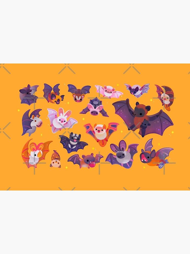 Bat - yellow by pikaole