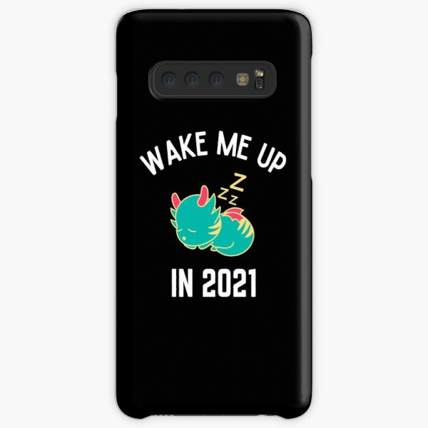 Wake Me Up In 2021, New Year, Happy New Year, Toddler Christmas, Ladies Christmas, Matching Christmas, Funny Samsung Galaxy Snap Case