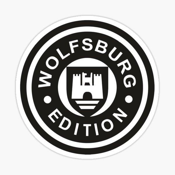 Wolfsburg Pegatina