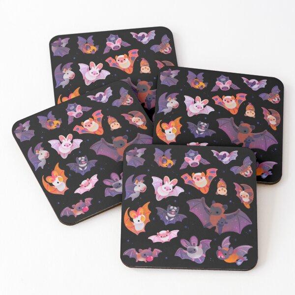 Bat Coasters (Set of 4)