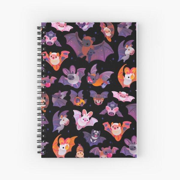 Bat Spiral Notebook