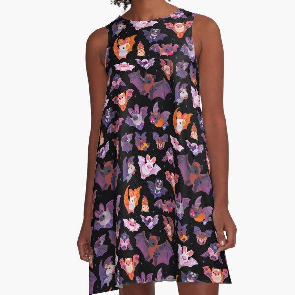 Bat A-Line Dress