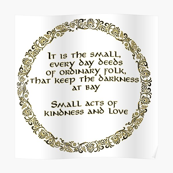 Small Acts Poster