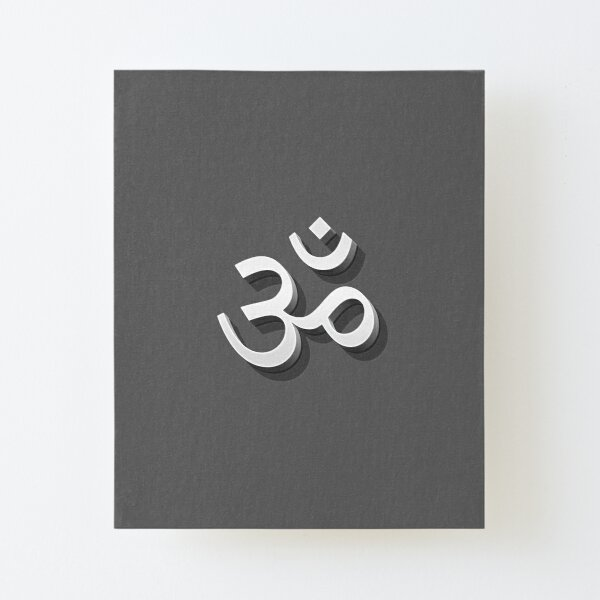 OM Canvas Mounted Print