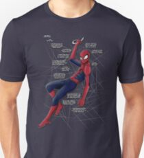 Ultimate Comics Spider-Man (fries monologue) T-shirt Unisex T-Shirt