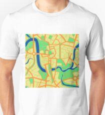 Seamless pattern of city map. T-Shirt