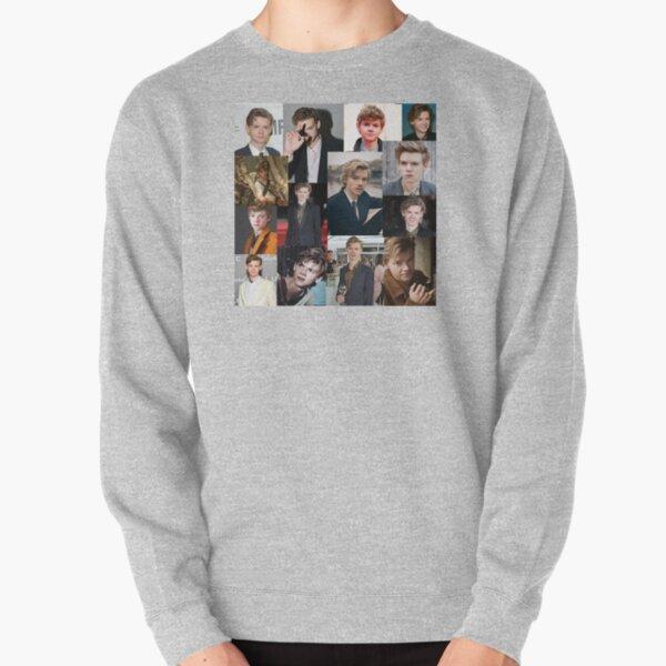 thomas brodie-sangster collage Pullover Sweatshirt