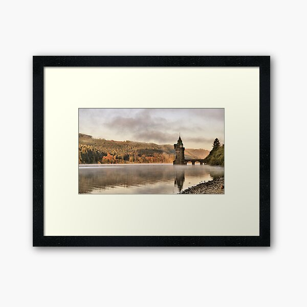 Lake Vyrnwy Framed Art Print